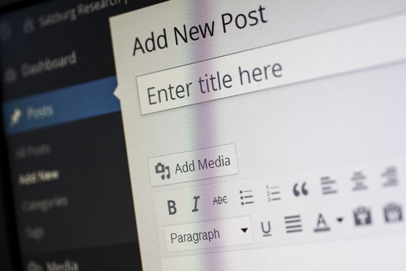 Hacer web en WordPress