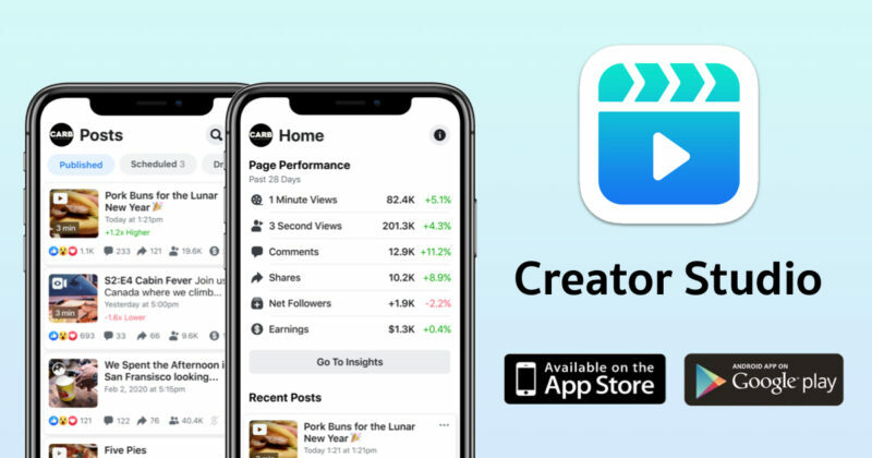Facebook lanza Creator Studio