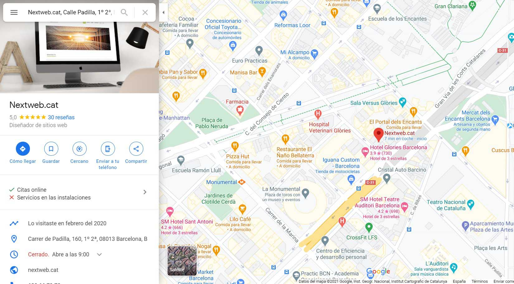 Posicionamiento local con Google MyBusiness