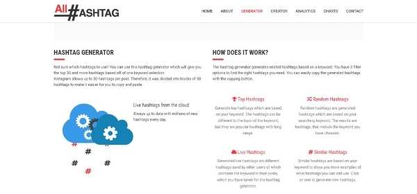 All Hashtag - herramienta de Marketing Digital - NEXTWEB