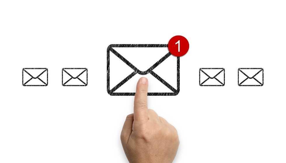 Estafas de phishing por correo electrónico